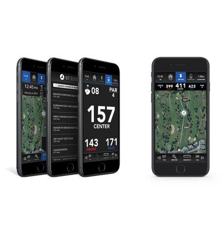 Gratis Motocaddy Golf GPS App